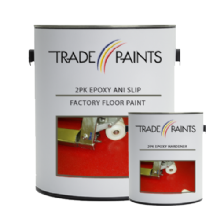 2 Pack Epoxy Anti Slip Factory Warehouse Floor Paint